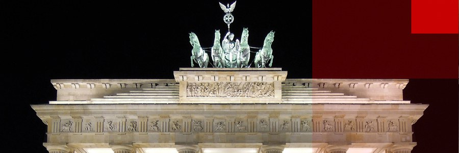 Brandenburg Gate - photo cult berlin - photo art 01 by thomas tyllack